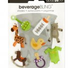 Baby Icons Beverage Bling Stickers