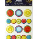 Summer Fruits Dimensional Pop-up Stickers