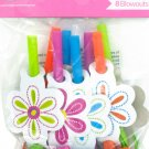 Flower Cheer Party Blowouts