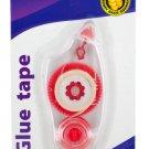 Glue Tape in Clear Dispenser