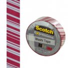 Scotch Expressions Candy Stripes Washi Tape