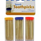 Travel Toothpick Containers with Toothpicks