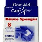 First Aid Gauze Sponges
