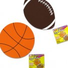 Sports Ball Foam Shapes