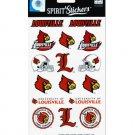 university of louisville cardinals spirit stickers