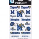 University Of Memphis Tigers Spirit Stickers