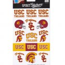 usc trojans sticker paper promotional