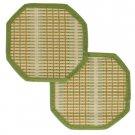 Bamboo Hot Pads Set