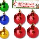 Plastic Christmas Ornament Bulbs