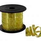 100' gold sparkle spool