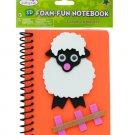 Lamb Foam Fun Notebook