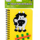 Cow Foam Fun Notebook