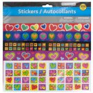 Girl Theme Stickers with Glitter