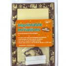 Thanksgiving Imprintable Invitations with Envelopes