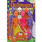 Dangling Halloween skeletons
