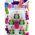 bear/#6 candle set