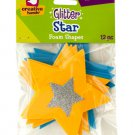 Glitter Star Foam Shapes