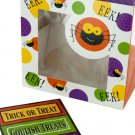 Halloween Spider Treat Boxes with Stickers