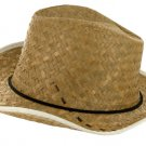 Adult Woven Western Hat with Braided Band