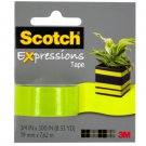 Scotch Expressions Lime Green Tape