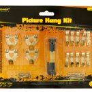 picture hanging kit w/level