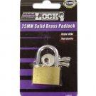 Solid Brass Padlock with Keys