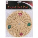 Round hot pad