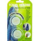 Stick-on towel holder