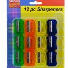 12 Pack Of Pencil Sharpeners