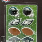 NFL Licensed Philadelphia Eagles Erasers Set