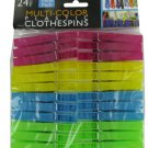 Multi-Color Plastic Clothespins
