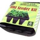 4 Pack miniature seeder kit