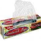 Fold-top sandwich bags