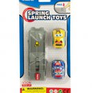 Press & Go Spring Launch Toy Cars Set