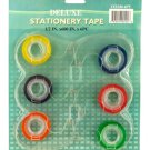 Tranparent Colored Stationary Tape
