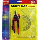 Math Measuring Set with Pencil