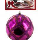 Large Christmas Glitter Net Ball Ornament