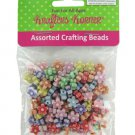 Assorted flower crafting beads