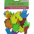 Foam Hand and Feet Craft Sticker Shapes