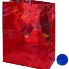 Large Red & Blue Holographic Gift Bag
