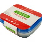 Small Rectangular Food Storage Container Set