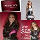 Annie Sez $100 Gift Card Discount Coupon 100