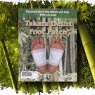 Takara Detox Foot Patch external cleansing pad Herbal 10 Pouches