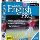 INSTANT IMMERSION ENGLISH PRO 7 CD PLATINUM