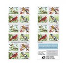 USPS 3 SHEET of Songbirds in Snow 20 MNH First Class Postage Forever Booklet Total 60 Stamps
