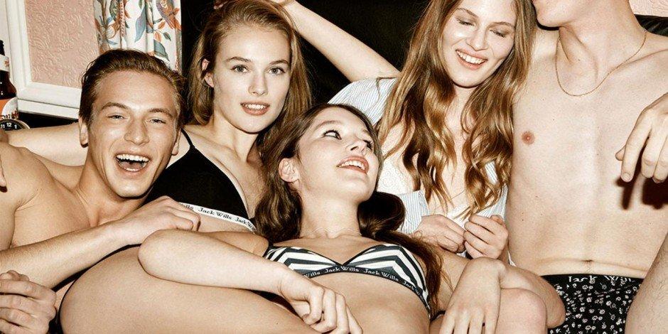 Jack Will Fabulously British Fashion Outfit Jewelry 8x10 Photo