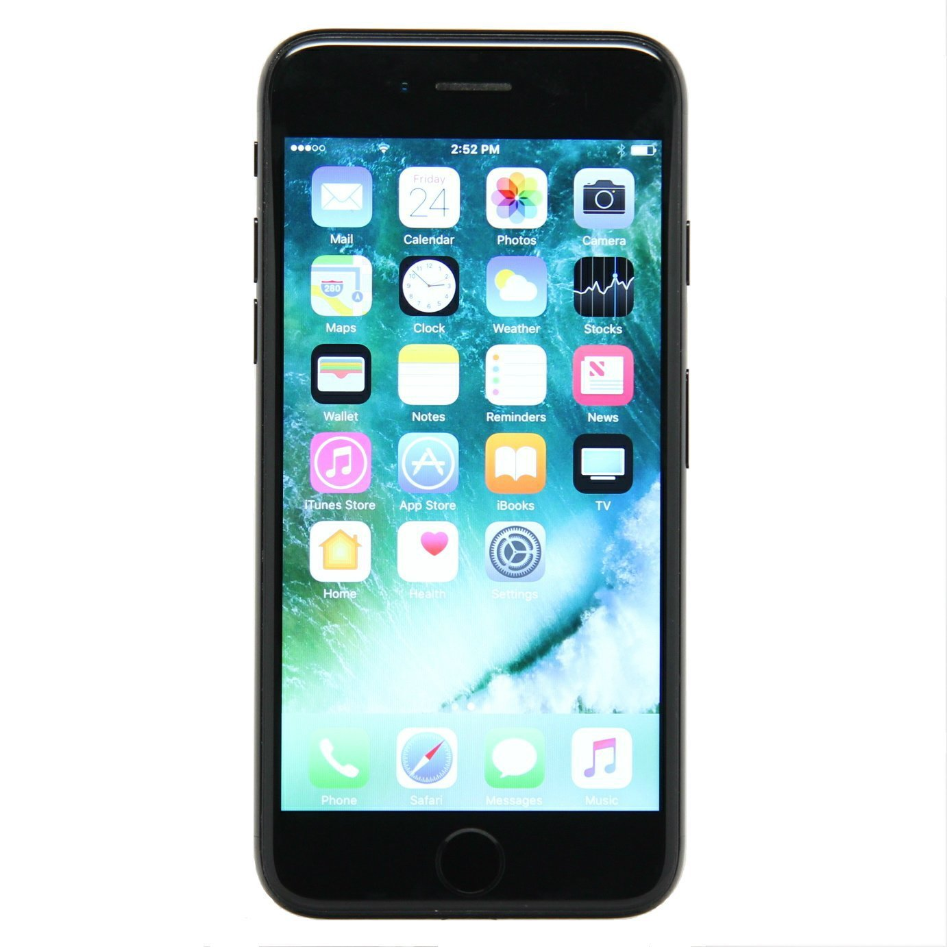 apple iphone 7 128 gb unlocked black certified refurbished. Black Bedroom Furniture Sets. Home Design Ideas