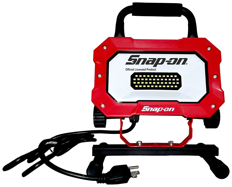 SUPER BRIGHT! Snap On LED Garage Work Light 2000 Lumens ...