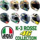 AGV K3 Series Valentino Rossi 46 Full Face Helmet Motorcycle