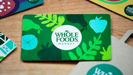 Whole foods $100 Gift Card Discount 100 Grocery store